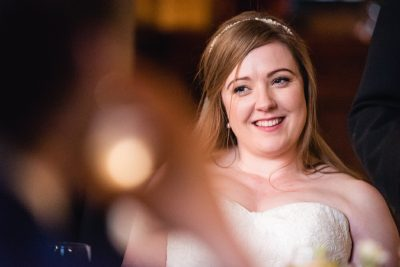 brides reaction to speeches
