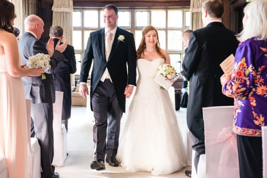 wedding couple recessional