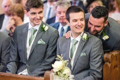 creative wedding photographer berkshire