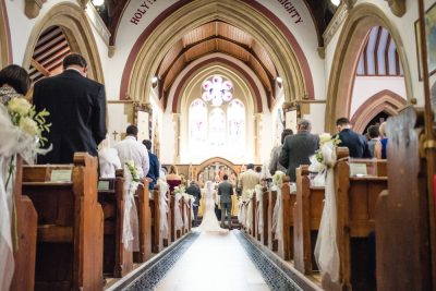 traditional church wedding ceremony berkshire