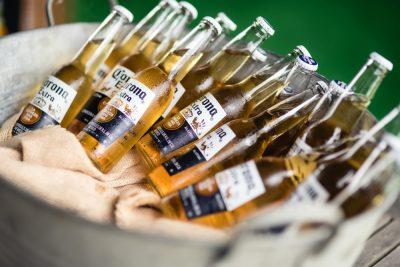 beer barrel reception drinks