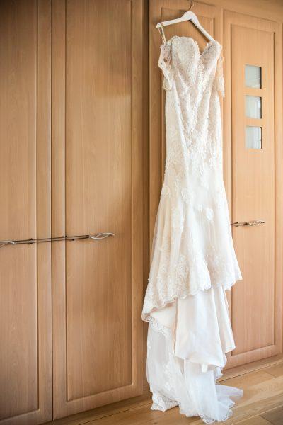 white lace wedding dress berkshire
