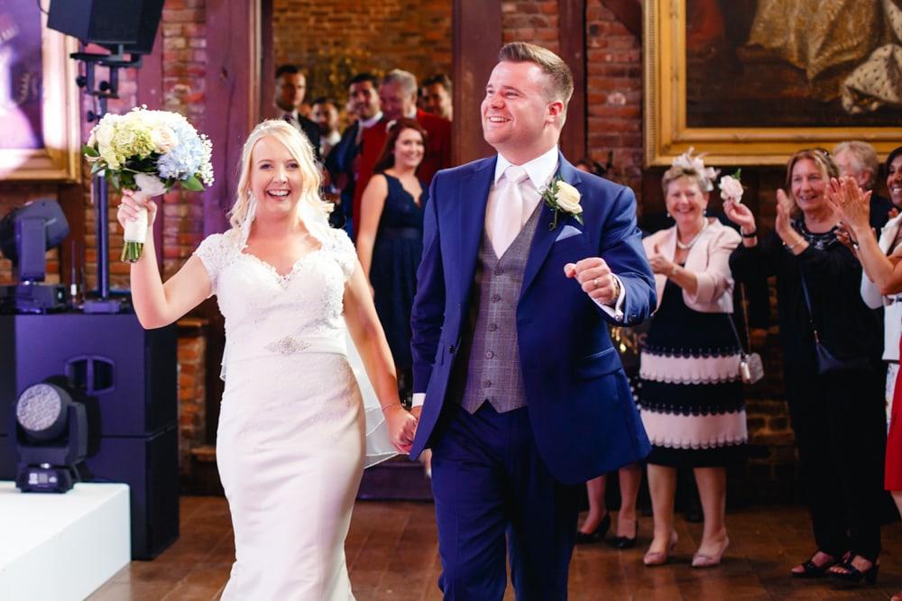 Hatfield House dancefloor wedding